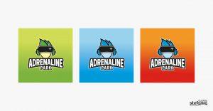 adrenaline park progettazione grafica logo