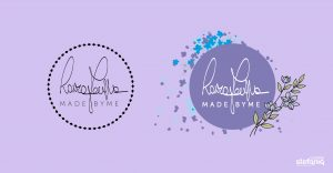 Laura Farina restyling logo