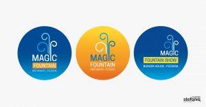 magic fountain progettazione grafica logo