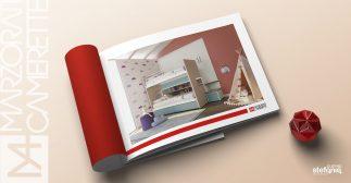Marzorati camerette impaginazione grafica brochure