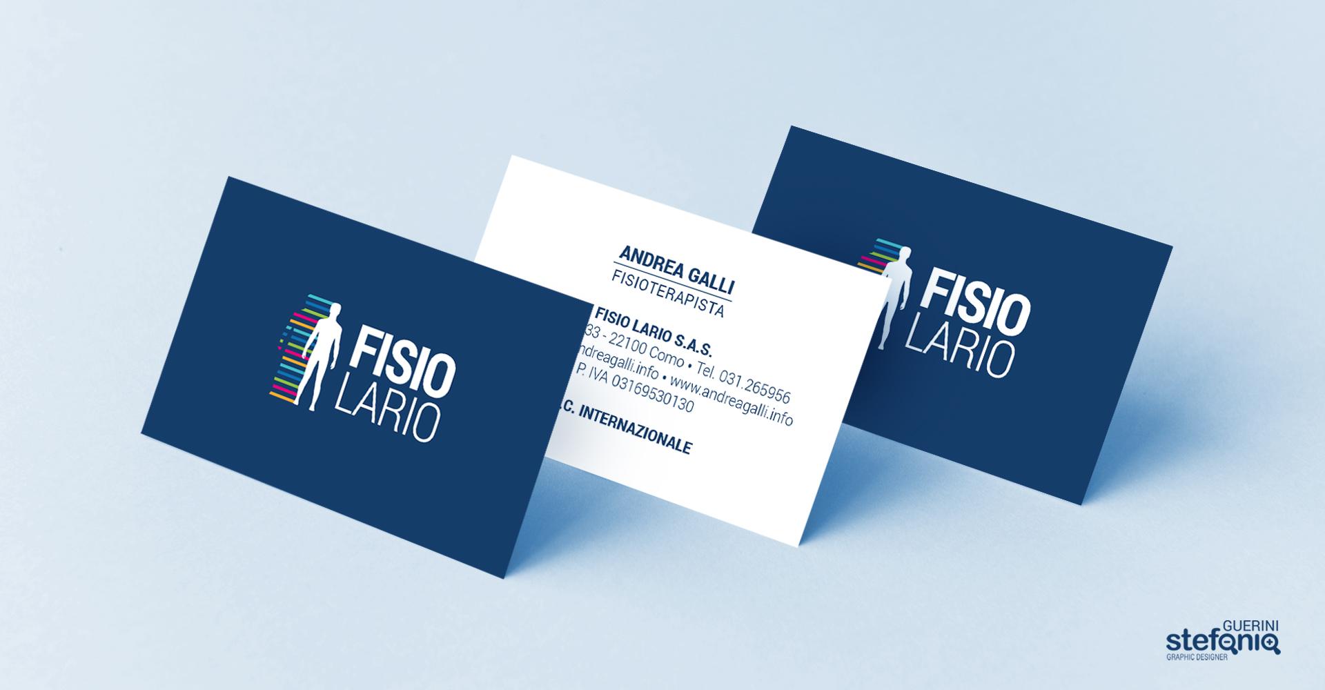 FISIOLARIO_BIGLIETTINI stefania guerini graphic designer grafico progettazione volantini bigliettini da visita 6x3 stand cantu como