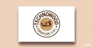 technowood forniture srl progettazione grafica logo