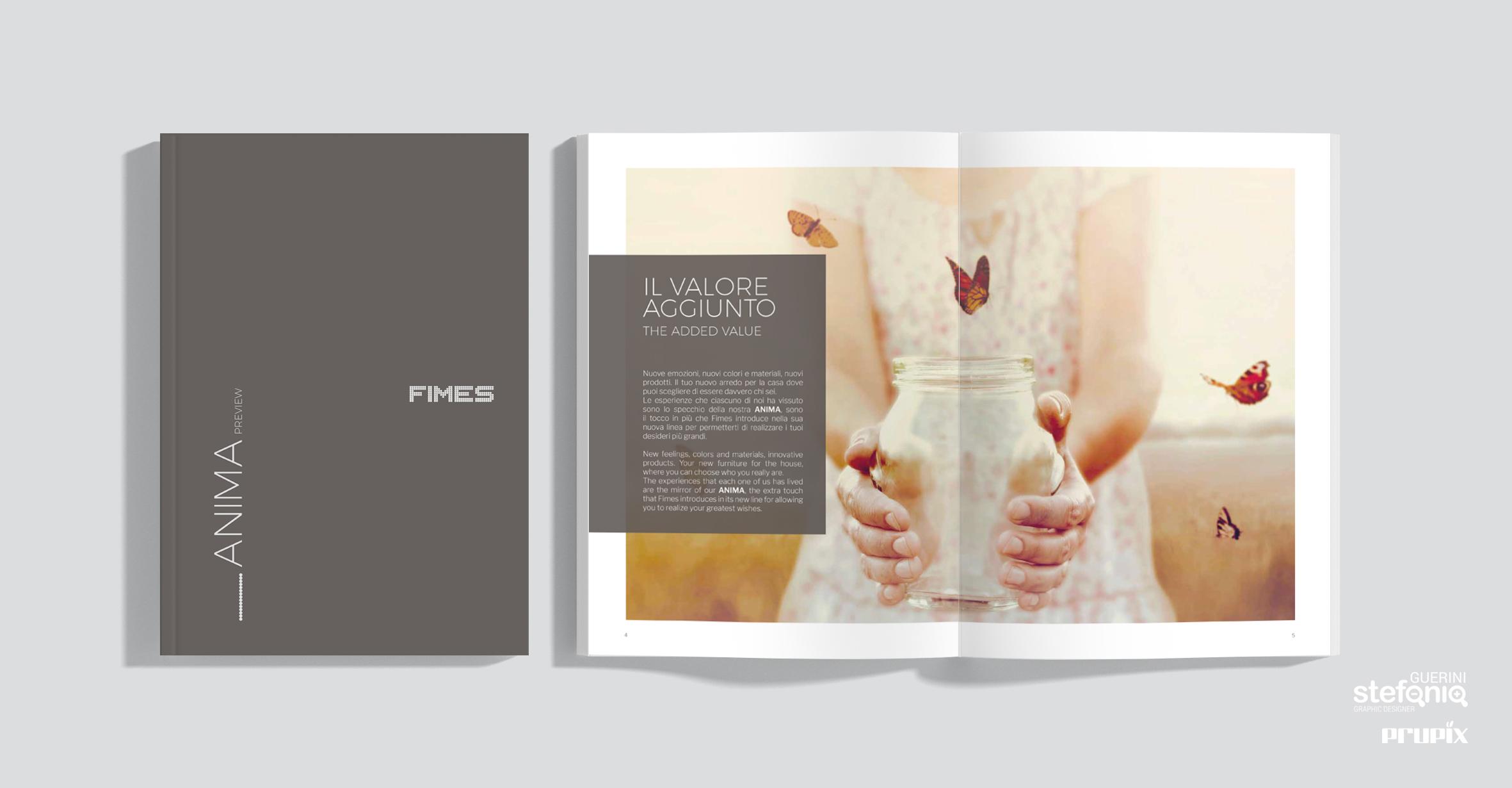 Fimes progettazione grafica catalogo prodotti