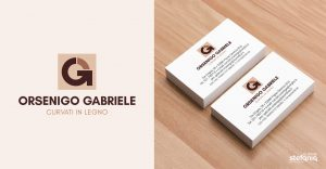 Orsenigo Gabriele: progettazione grafica logo e biglietti da visita