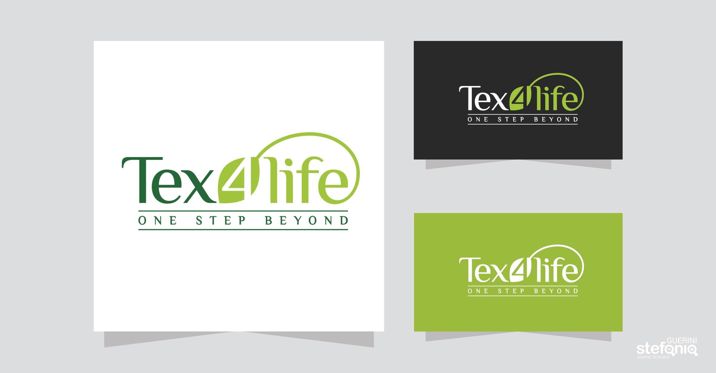Tex4life progettazione grafica logo